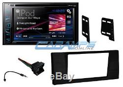 02-03 E39 5-SERIES PIONEER DOUBLE 2 DIN CAR STEREO With COMPLETE INSTALLATION KIT