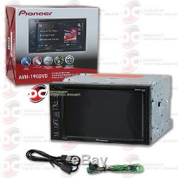 2016 PIONEER 2DIN 6.2 TOUCHSCREEN CAR STEREO DVD AM/FM MP3 CD With REAR AUX & USB