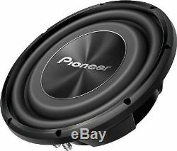 2x Pioneer TS-A3000LS4 12 Car Stereo Shallow 4-ohm 3000 Watts Subwoofer 1Pair