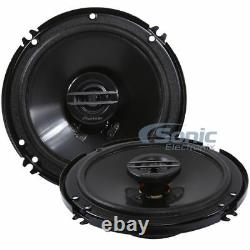 (4) PIONEER 1200W 6.5 G-Series 2-Way Coaxial Car Stereo Speakers TS-G1620F