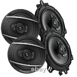 4x Pioneer TS-A1677S 5 640 WATTS 3-WAY STEREO RICH BASS SPEAKERS CAR AUDIO