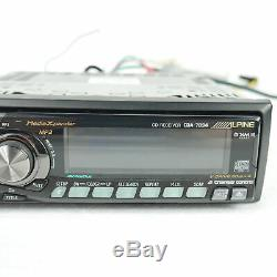 Alpine Competition Audiophile Car Cd/mp3 Aux/ipod Ready Receiver Player Stereo