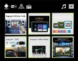 Android 9.1 10.1in 2DIN Car FM Bluetooth Stereo Radio MP5 Player GPS Navi WIFI