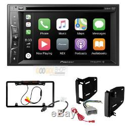 Apple Car Play Radio Stereo with Dash Install Kit for Dodge-Chrysler-Jeep-RAM