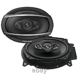 Car Audio Stereo, 4x 6x9 Speakers, 1 Pyle 4 Channel Amp, 1 X Amp Install Kit