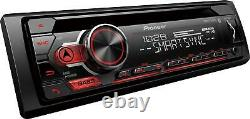 Car Stereo RadioPioneer DEH-S31BT, Bluetooth-Smart Sync Your Android Device New