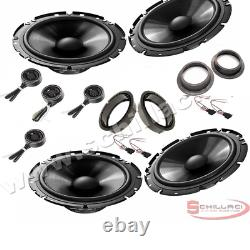 Car stereo front and rear 8 speakers kit for PIONEER Volkswagen VW