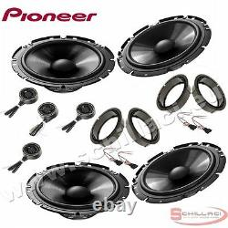 Car stereo front and rear 8 speakers kit for PIONEER Volkswagen VW Golf 4 97-03