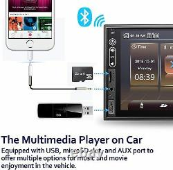 Double Din Stereo Car Audio Receiver Corehan 7 Inch Touch Screen Car Stereo