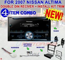 Fits/for 07-2012 Nissan Altima Cd/am/fm//bluetooth/aux Car Radio Stereo Package