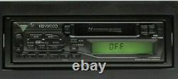 Kenwood KRC-108S AM/FM Stereo Cassette Tape Player Old School Car Stereo Audio
