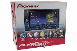 NEW 6.2 PIONEER STEREO DOUBLE 2 DIN CAR RADIO With BLUETOOTH With INSTALLATION KIT