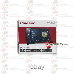 NEW PIONEER 6.2 USB DVD CD BLUETOOTH CAR DOUBLE DIN STEREO With BACKUP CAMERA