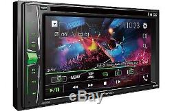 NEW PIONEER AVH-201EX 6.2 Car STEREO DVD CD BLUETOOTH WITH FREE BACK UP CAMERA