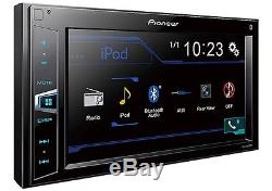 NEW PIONEER BLUETOOTH CAR STEREO DIGITAL MEDIA RADIO With DASH KIT & HARNESS