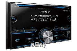 NEW PIONEER CAR STEREO RADIO With BLUETOOTH & AUX/USB INPUT With DASH KIT & HARNESS