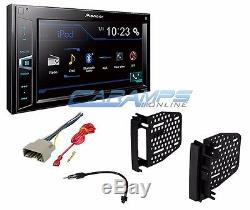 NEW PIONEER CAR STEREO RADIO With BLUETOOTH & DIGITAL MEDIA PLAYER With INSTALL KIT