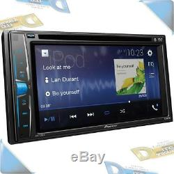 NEW Pioneer 6.2 Double-DIN In-Dash Car Stereo Radio DVD/CD Receiver withBluetooth