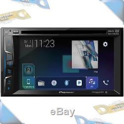 NEW Pioneer 6.2 Double-DIN In-Dash DVD Car Stereo withBluetooth/SiriusXM Ready