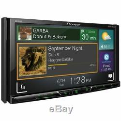 New PIONEER AVH-601EX Double Din DVD Multimedia Car Stereo Receiver Free Ship