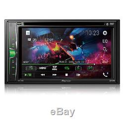 New Pioneer AVH-210EX 6.2 DOUBLE DIN TOUCHSCREEN CAR STEREO DVD BLUETOOTH STERE
