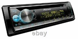New Pioneer Bluetooth Car Stereo CD MP3 WMA Player USB AUX-IN AMFM Smart Sync