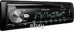 New Pioneer Bluetooth Car Stereo Receiver CD Player Radio LCD USB AUX-IN Remote