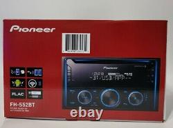 New Pioneer CD Car Stereo Receiver FH-S52BT Bluetooth USB AUX MP3