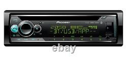 New Pioneer DEH-S520BT CD MP3 Tuner Bluetooth USB iPhone Android Car Stereo Aux