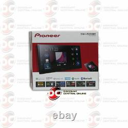PIONEER 2DIN 6.8 CAR STEREO APPLE CARPLAY ANDROID AUTO BLUETOOTH With BACKUP CAM