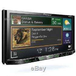 PIONEER AVH-X595BT 7 WVGA MIXTRAX Double DIN Bluetooth Car CD DVD Stereo Player