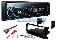 PIONEER BLUETOOTH & SMARTPHONE INTG CAR STEREO RADIO With INSTALL KIT & USB/AUX