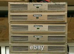 PIONEER Component Vintage GM-4 Car Stereo Amplifiers