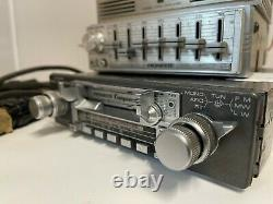 PIONEER KEX-23 Component Vintage Classic Car Radio +2x GM-4 STEREO AMP+EQUALISER