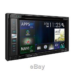 Pioneer 2-DIN 6.2 Touchscreen Car Stereo DVD CD GPS Navigation Receiver
