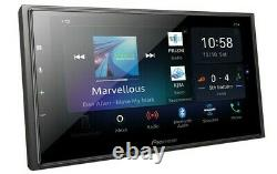 Pioneer 2-DIN 6.8 Touchscreen Car Stereo Multimedia Receiver DMHW4600