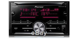 Pioneer 2-DIN Car Stereo CD Player Receiver with Bluetooth USB AUX SiriusXM-Ready