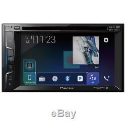Pioneer 2-DIN Car Stereo DVD Receiver with Bluetooth & Back-Up Camera Ready