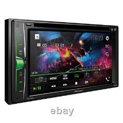 Pioneer 2-Din 6.2 DVD/CD/iPhone/Android/Bluetooth Car Stereo PAC RPK5-GM4101