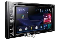 Pioneer 2-Din 6.2 Touchscreen CD DVD Player Car Stereo Receiver USB Bluetooth