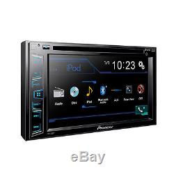 Pioneer 2016 Radio Stereo + Dash Kit Harness for 2004-11 Ford Lincoln Mercury