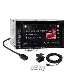 Pioneer 2016 Radio Stereo Double DIN Dash Kit Harness for 2007-11 Nissan Altima
