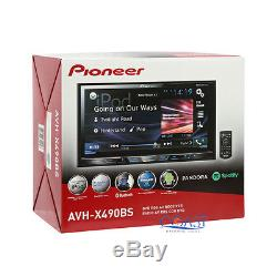 Pioneer 2017 DVD Bluetooth Stereo Dash Kit Amp Harness for Ford Mercury Mazda