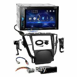 Pioneer 2018 DVD Bluetooth Stereo 2 Din Dash Kit Harness for 2009-2014 Acura TL