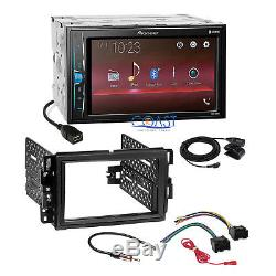 Pioneer 2018 Multimedia Stereo Dash Kit Harness for GM Buick Chevrolet Pontiac