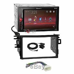 Pioneer 2018 USB BT Camera Input Stereo Dash Kit Harness for 98-02 Honda Accord