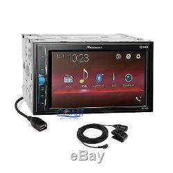 Pioneer 2018 USB Bluetooth Stereo Dash Kit Harness for 2007-2011 Toyota Camry