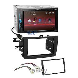 Pioneer 2018 USB Multimedia Stereo Dash Kit Harness for 2009-13 Toyota Corolla