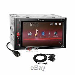 Pioneer 2019 BT Camera Input Taupe Stereo Dash Kit Harness for 06+ Honda Civic