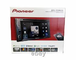 Pioneer 6.2 Car Stereo DVD Player Receiver / License Plate Rear View Camera